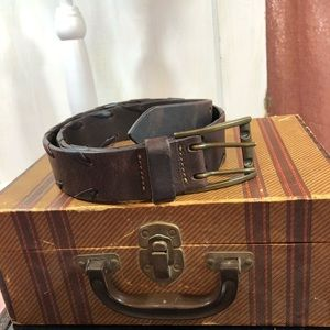 Banana Republic Size 38 Brown Leather Belt